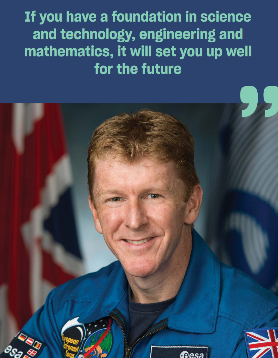 Tim Peake quote